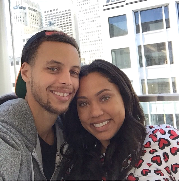 the video of christian wife ayesha curry celebrating her