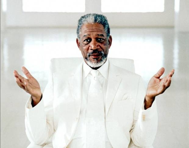 Actor Morgan Freeman, Who Believes Humans Invented God ...