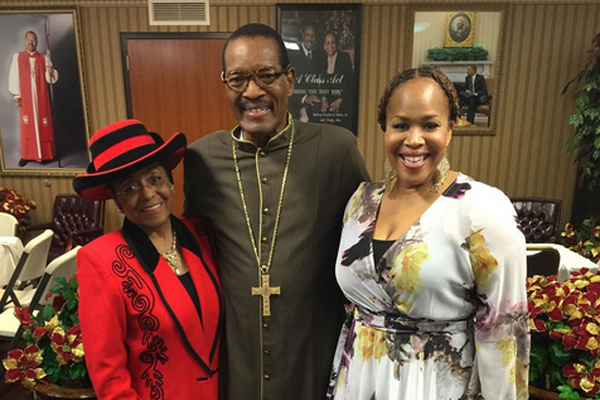 Tina Campbell calls ministering at COGIC Presiding Bishop's church