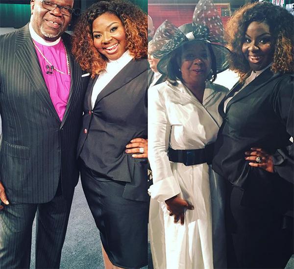 Bishop T D  Jakes celebrates daughter Cora Jakes-Coleman, now an