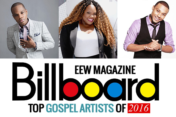 Image result for billboard gospel artist 2016