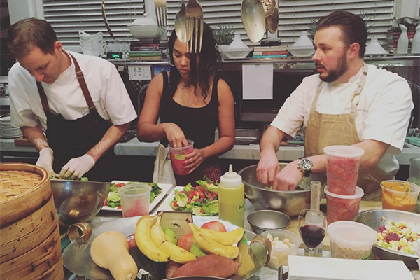 giving back  chef ayesha curry cooks  u2018the imagination bus