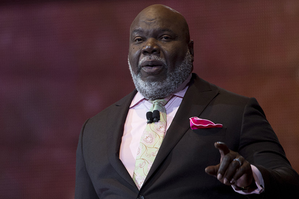 A message from Bishop T D  Jakes: Your life is His platform
