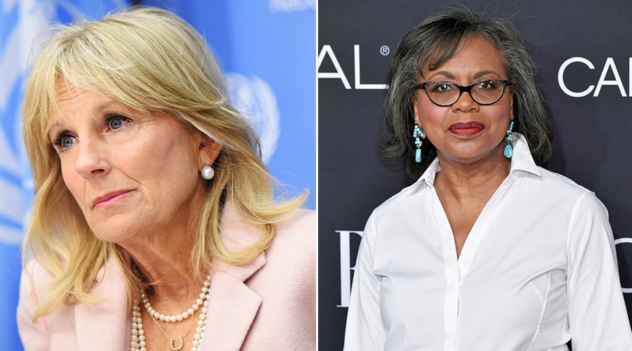 Not your place, ma'am: Jill Biden says it's time to move on from Anita Hill controvers