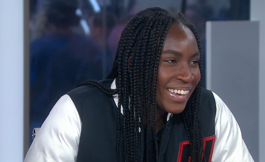 Watch: Teen Tennis Phenom Coco Gauff talks Naomi Osaka and 'fan-girling' over Michelle Obama
