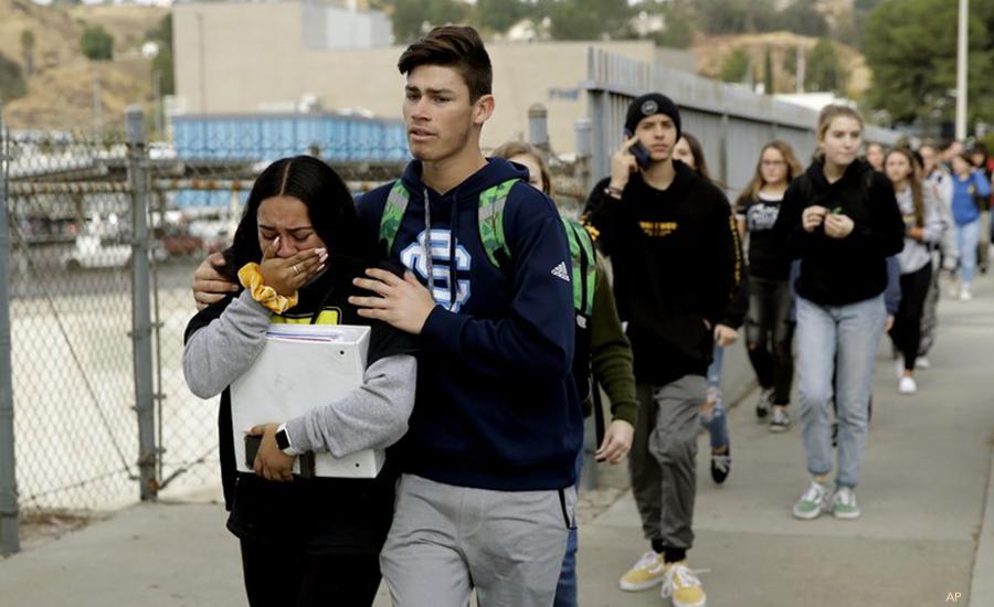 Prayers Up: 2 dead in California school attack, gunman shoots self
