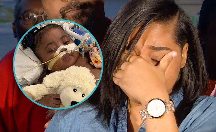 Prayers Up: Family fights to keep 9-month-old Tinslee Lewis on life support [VIDEO]