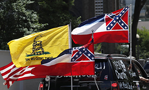 Walmart says it will stop displaying Mississippi state flag because of Confederate emblem