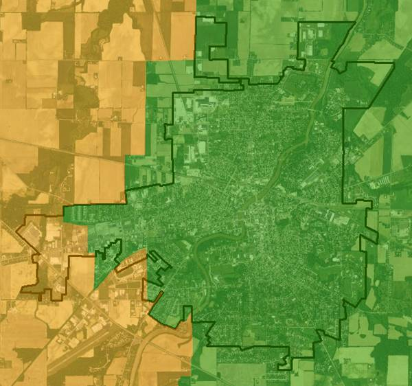 GIS real estate suitability - School districts