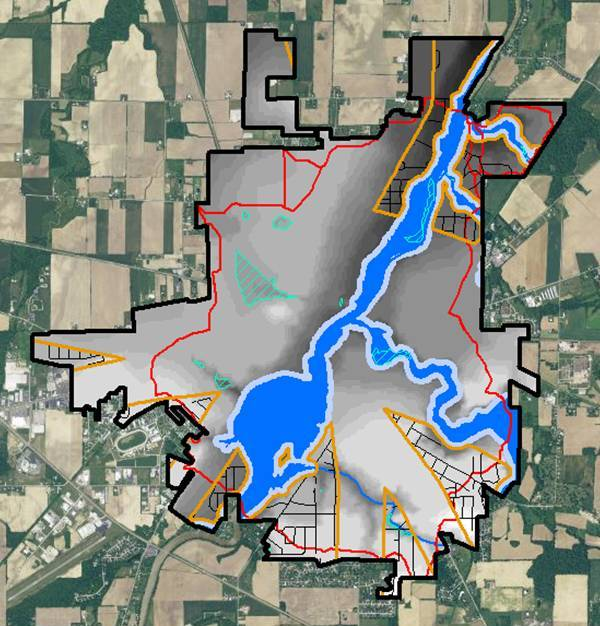 GIS real estate suitability-another elevation-based feature that can be used to make decisions about the location of real estate are basins divides.