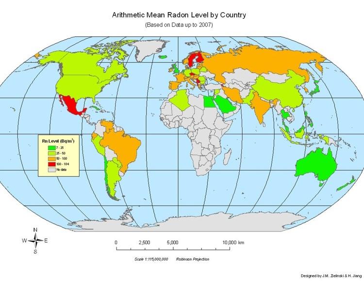 GIS Ag Maps Radon Zones
