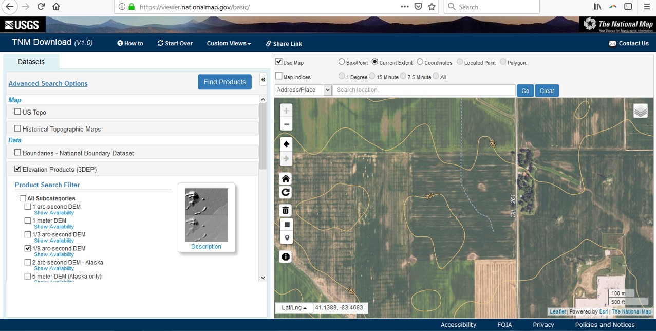 GIS Ag Maps - Course 5A: Downloading & Using Hi-Res  Elevation