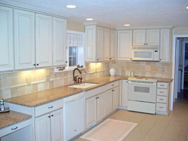 Mid range kitchen remodel by hibbard construction blog for Mid range kitchen cabinets