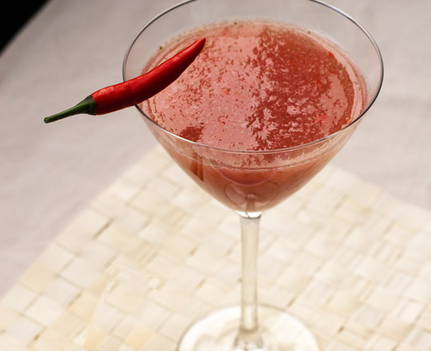... chile martini nm holiday martini red chile powder falling red chili
