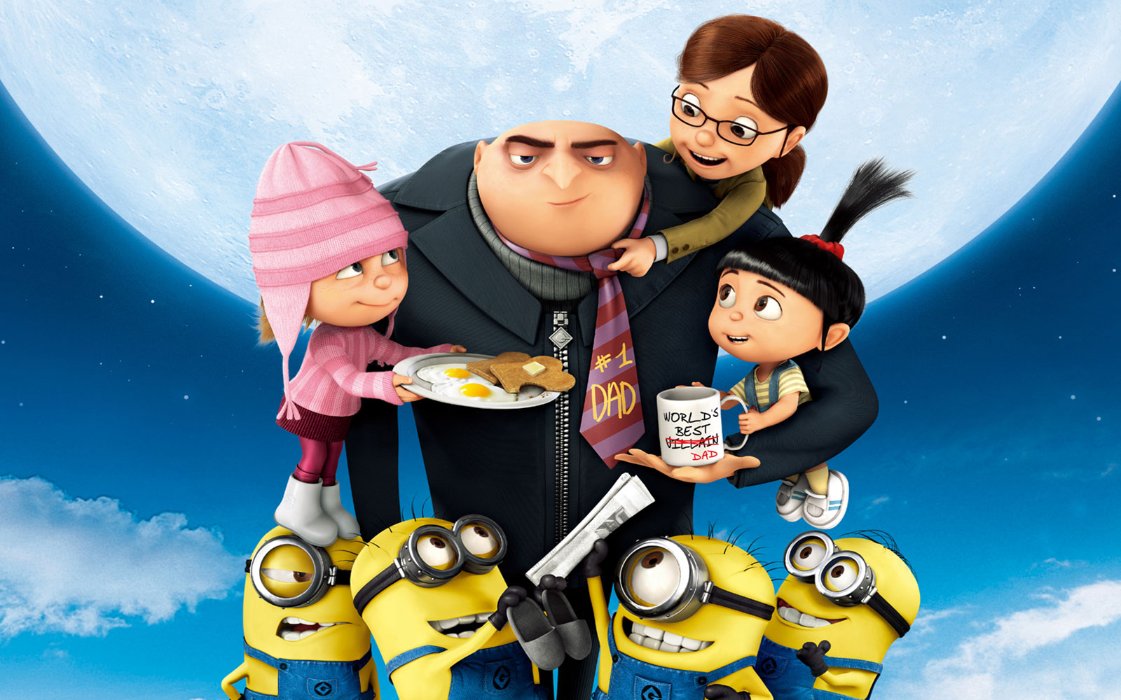 Google themes despicable me