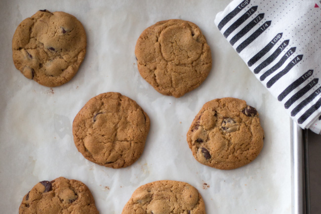 movember chocolate chip cookies