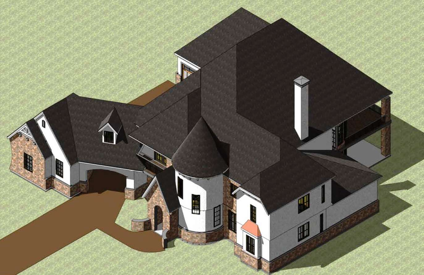 3 dimensional house plans for 3d house blueprints