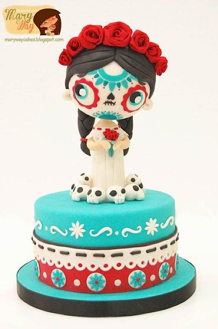 Cake Wrecks - Home - Sunday Sweets Celebrates Dia De Los ...