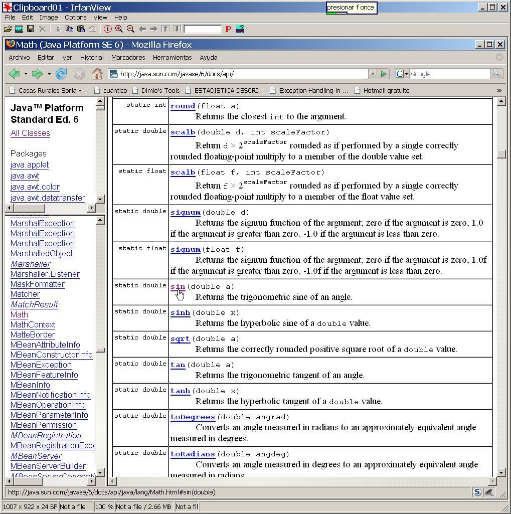 javaHispano - Portada - Curso de programación Java II ... Javadoc