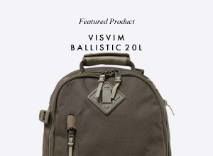 SHOP: VISVIM BALLISTIC 20L BACKPACK