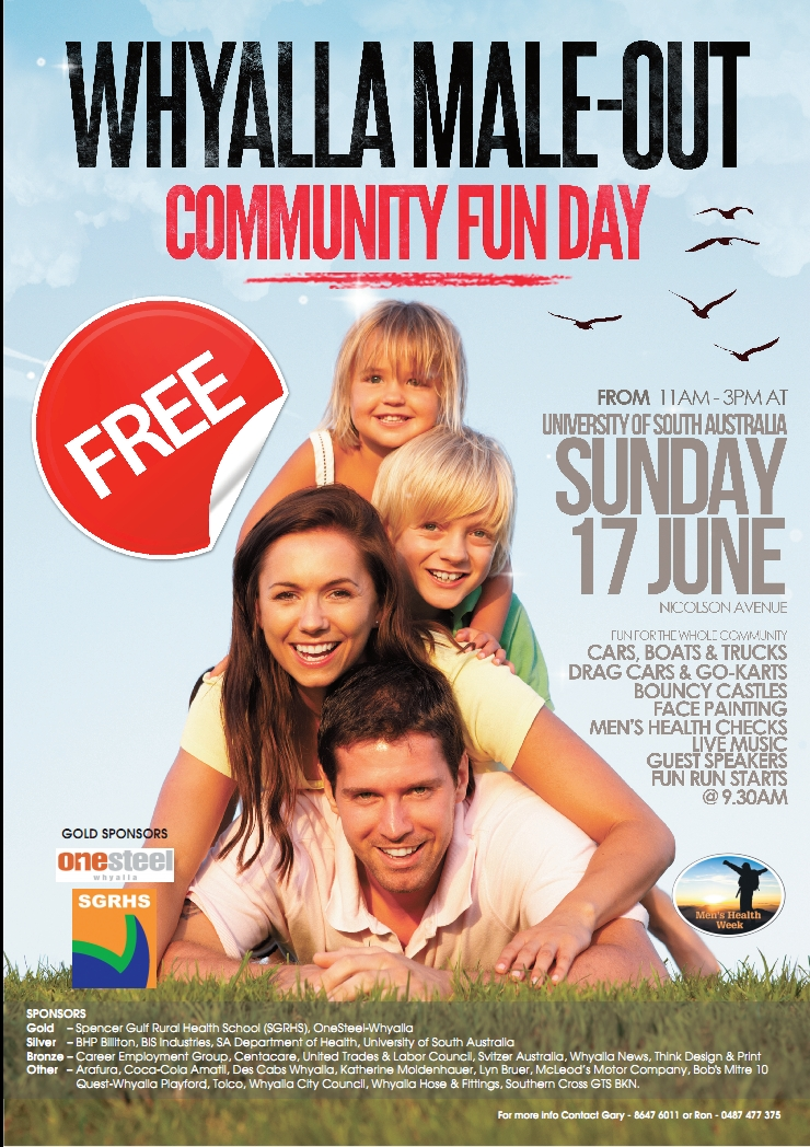 Whyalla Male-Out Community Fun Day (SA)