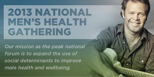 Save the date | 2013 National Men's Health Gathering