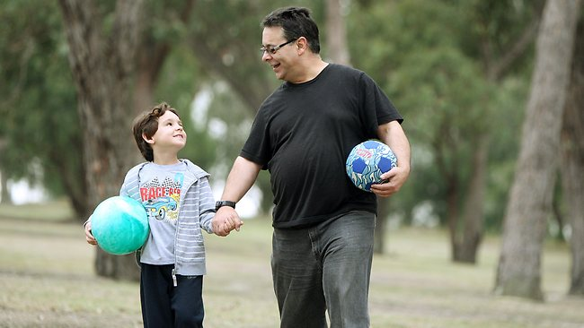 New survey shows men who don't see their children much are still great fathers | Herald Sun