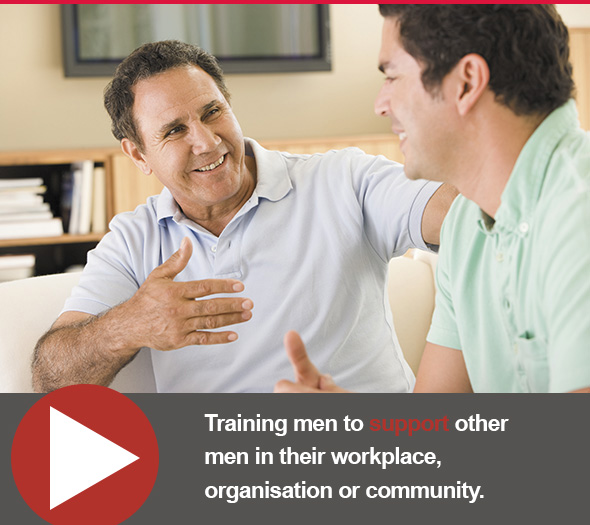 MensWatch – Male Peer Support Training Program