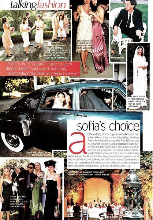 Sofia Coppola Spike Jonze Wedding - iwate-kokyo