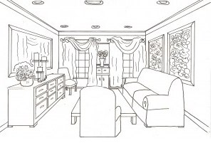 Interior Design Space Planning Custom Cabinets Home