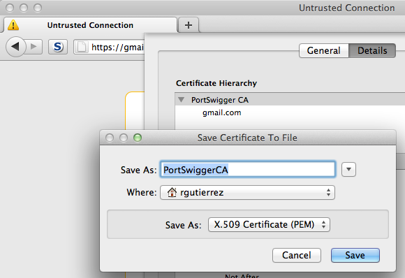 GDS - Blog - Accepting Un-Trusted Certificates using the iOS Simulator