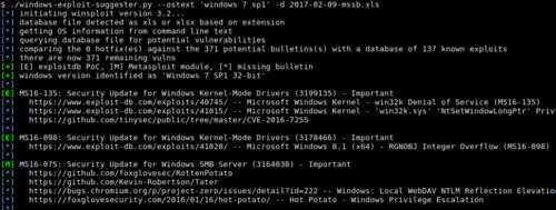 GDS - Blog - Introducing Windows Exploit Suggester