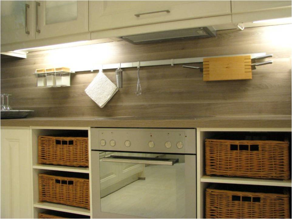 be mounted to a variety of backsplash materials as seen below