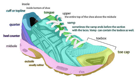 shoe diagram foot notes independent sole : shoe parts diagram - findchart.co