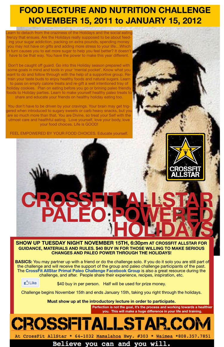 Crossfit allstar primal paleo challenge additional resouces before you get started malvernweather Images