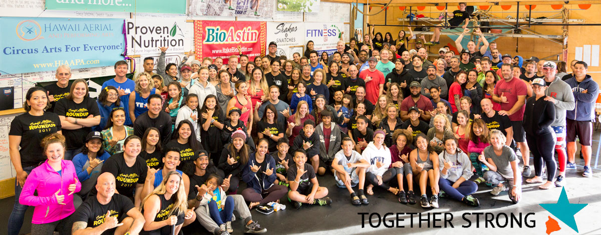 Crossfit Roundup Group Photo
