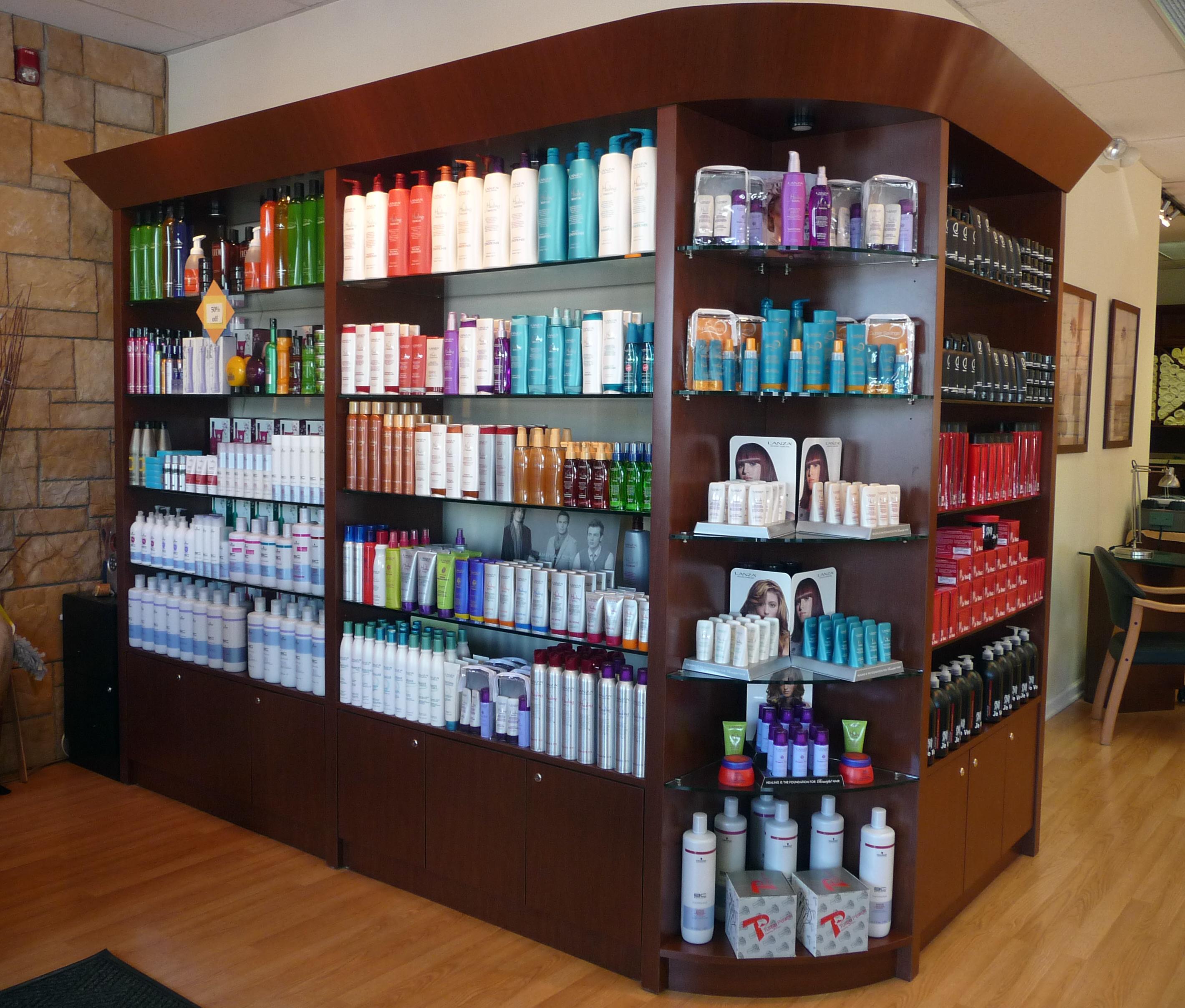 products jad kattan salon rh jadkattansalon com Salon Shelving Salon Retail Displays