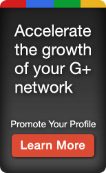 Promote our Google+ Profile