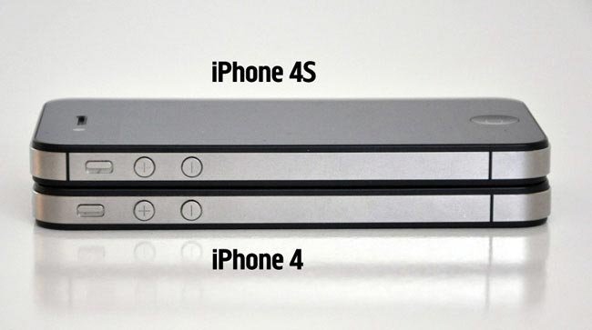 iPhone 4 vs iPhone 4S (Comparison)