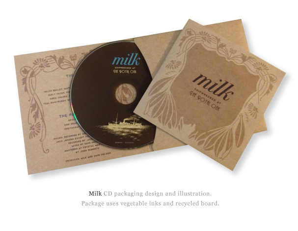 Creative Book Packaging Design ~ Cd packaging because i like you creative studio