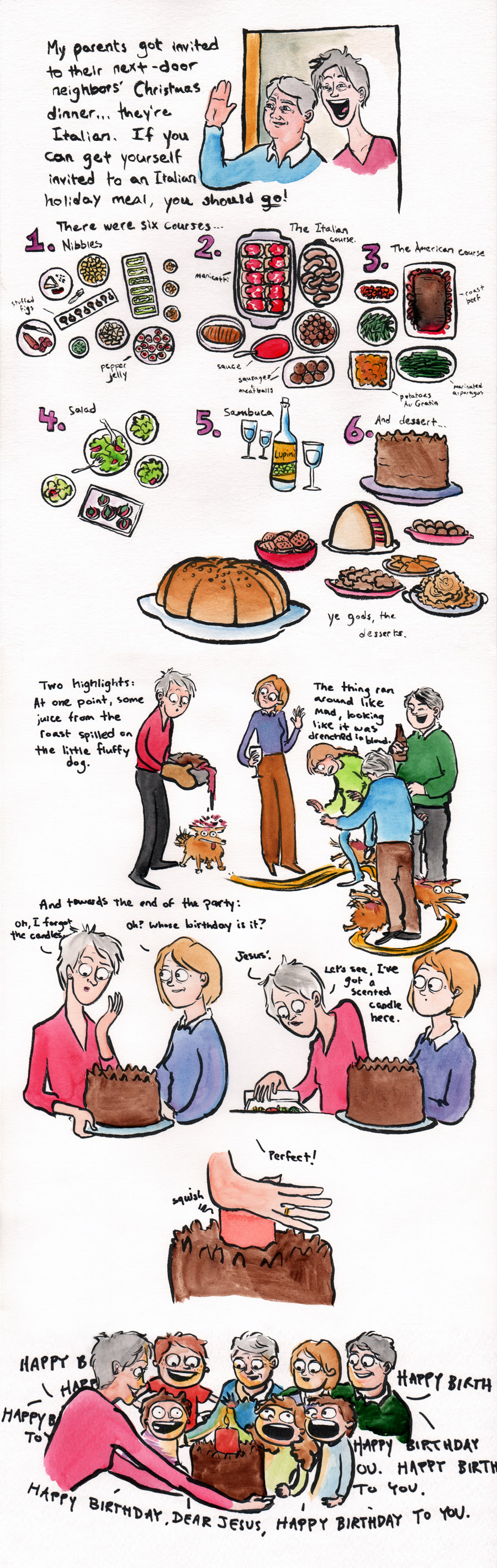 This things I believe... - Journal - One last Christmas Comic ...