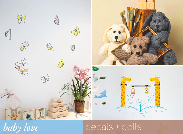 Josie's Baby Picks: Decals & Dolls
