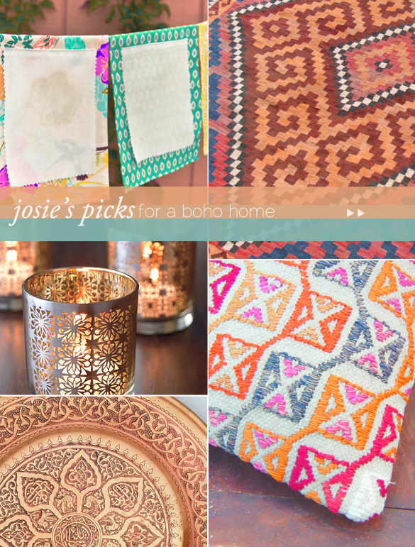 Josie Maran's boho home picks