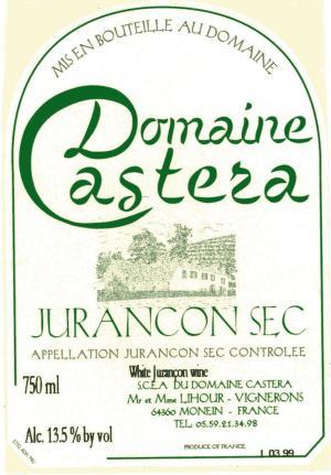 Domaine Castera Jurancon