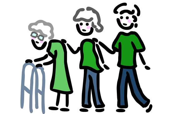 caregiver support Caregiver: someone who provides whatever is needed for another person's well-being family caregiver support program: support to the person who provides whatever is.