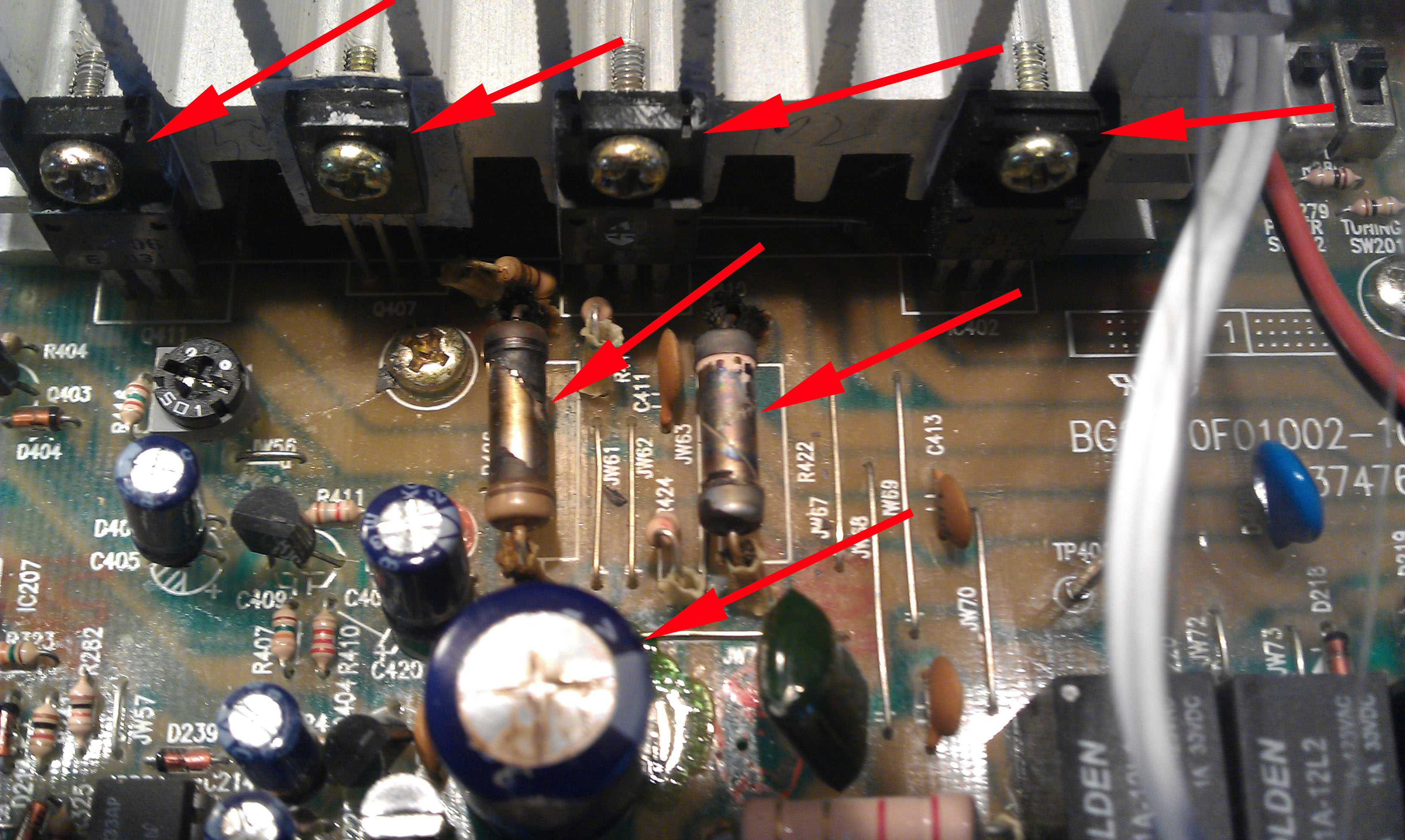 Your Site Name Ima3303 Electronics Repairs Can Rebuild Almost Any Printed Circuit Board Nutone Im3303 Original Bad Compopnents Squarespace Cacheversion1360438170160