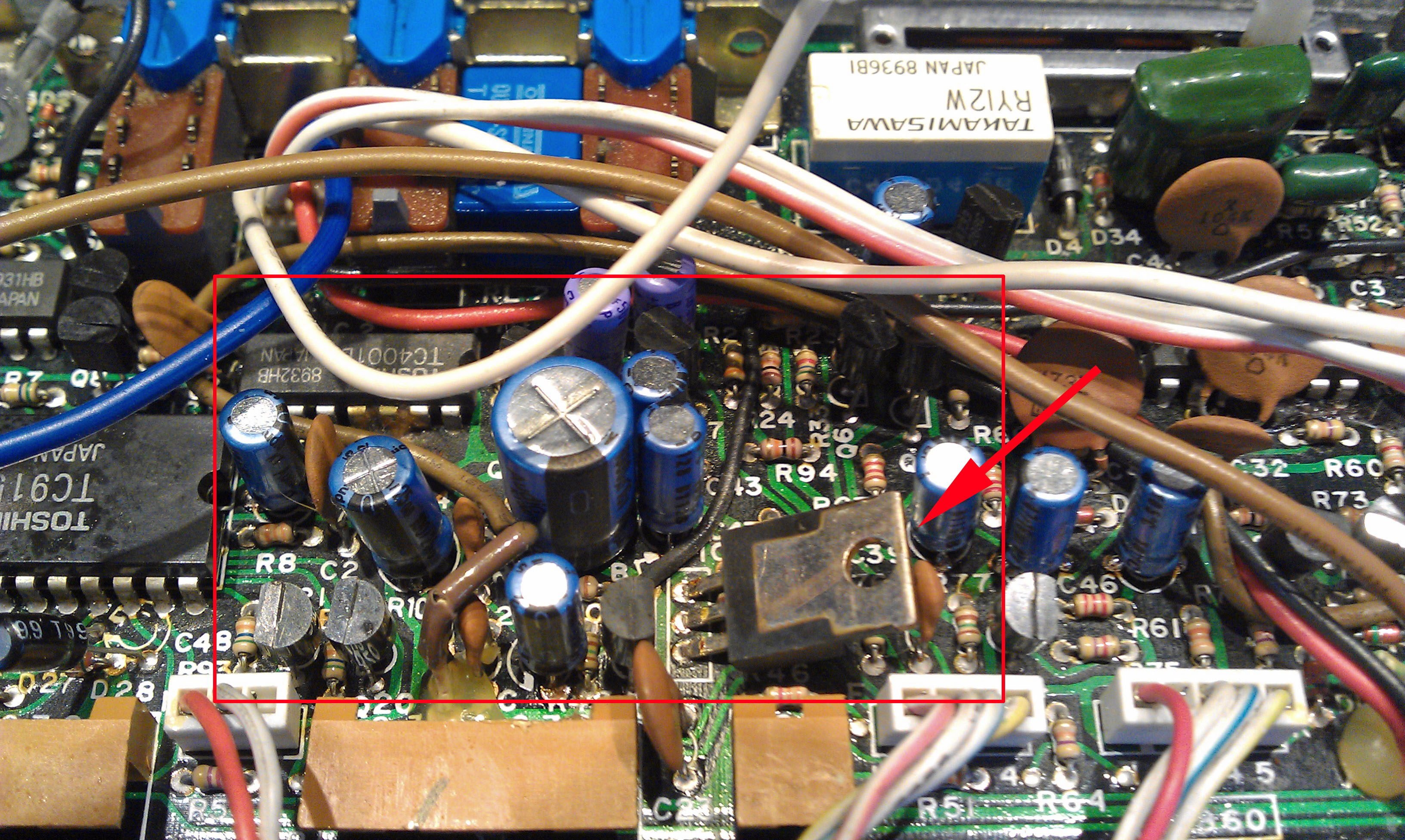Your Site Name Im4006 Circuit Board And Wiring The Master Is A Double Sided Which Packed With Components Making It Much More Difficult To Work On