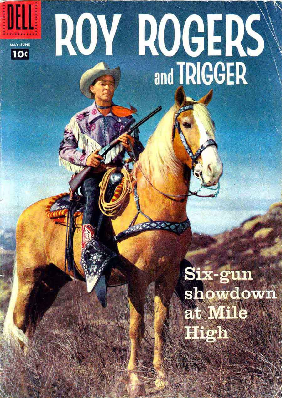 He appeared faithfully between roy rogers s legs in more than five