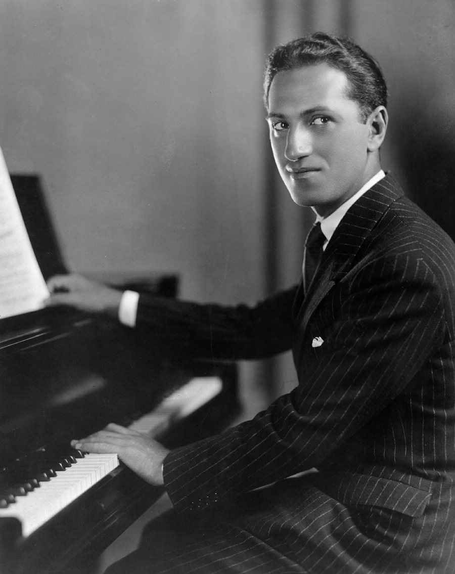 Gershwin at piano