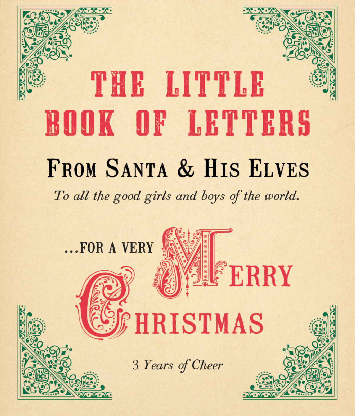 Sugarboo Designs  Products  Little Book Of Letters From Santa And